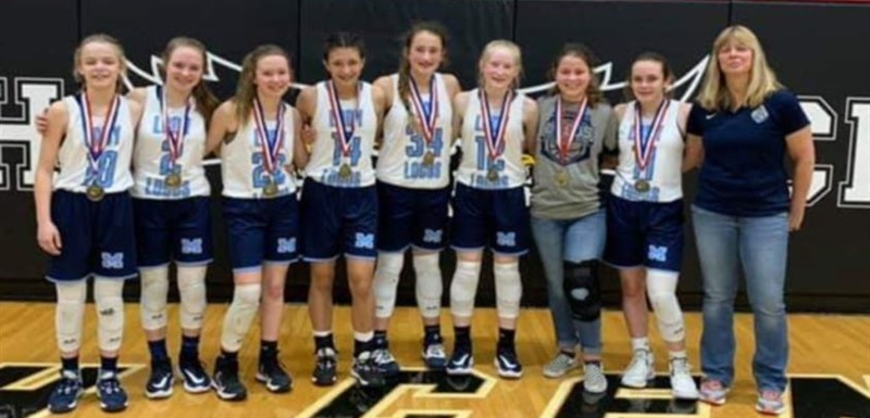 Congrats to our 7th grade girls BBC champs!