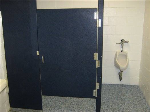 Locker Room Restrooms-After