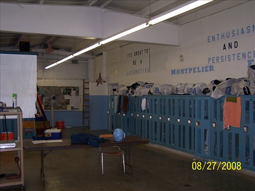 Varsity Locker Room-Before