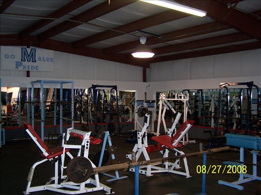 Weight Room-Before