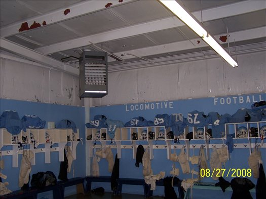 Visitor Locker Rooms-Before