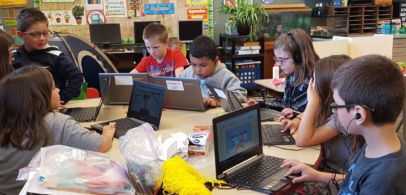 Learning with Chromebooks