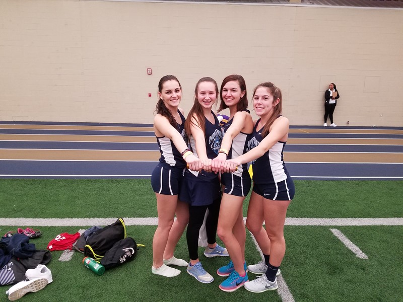 Indoor State Track  Girls 4x2